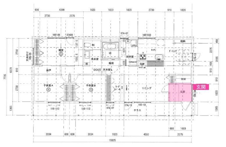 1階平面図2